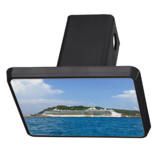 Freedom in St. Maarten Trailer Hitch Cover