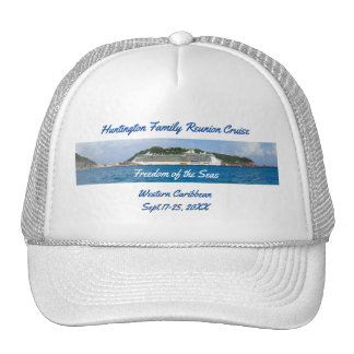 Freedom in St Martin Custom Group Cruise Trucker Hat