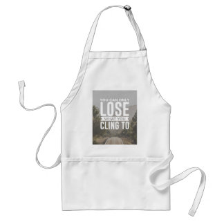 Freedom Is Letting Go Standard Apron