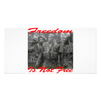 Freedom Is Not Free 002 Photo Cards