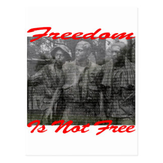 Freedom Is Not Free #002 Postcard