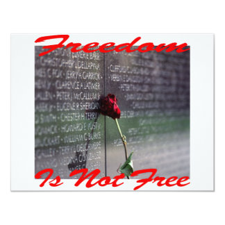 Freedom Is Not Free #004 Invitation