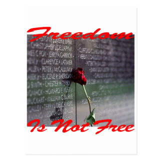 Freedom Is Not Free #004 Postcard