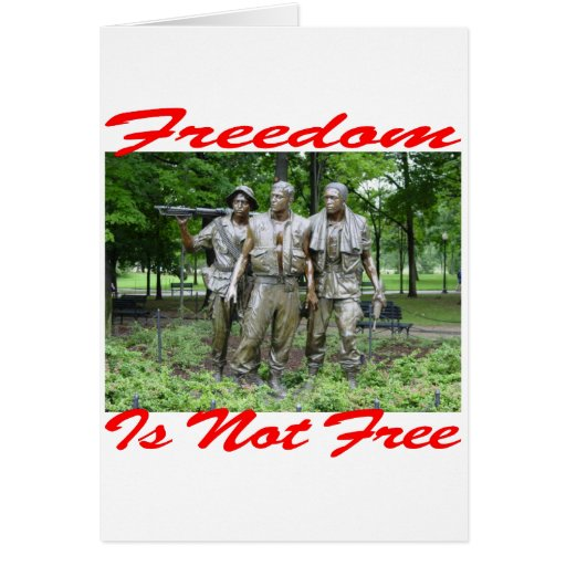 Freedom Is Not Free #005 Card