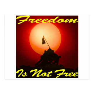 Freedom Is Not Free #007 Postcard