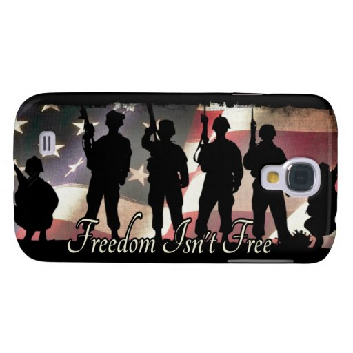 Freedom Isnt Free Military Soldier Silhouette HTC Vivid / Raider 4G Cover