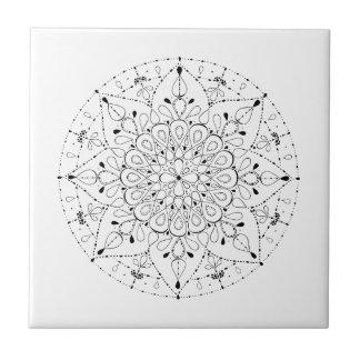 Freedom Mandala Ceramic Tiles
