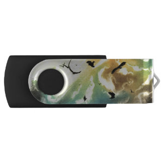 Freedom Of Birds Swivel USB 2.0 Flash Drive