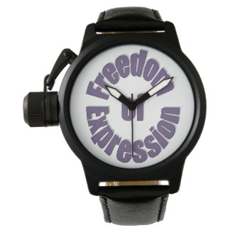 Freedom of Expression Watches
