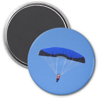 Freedom of the Skies Large Round Magnet