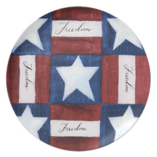 Freedom Quilt Plate