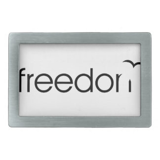 Freedom Rectangular Belt Buckle