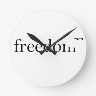 Freedom Round Clock