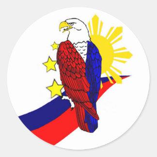 Freedom! Round Sticker