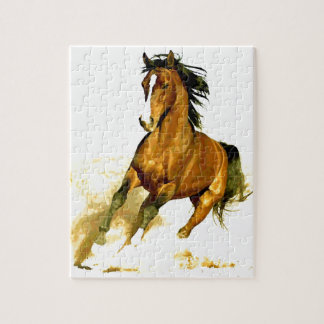 Freedom - Running Horse Jigsaw Puzzle