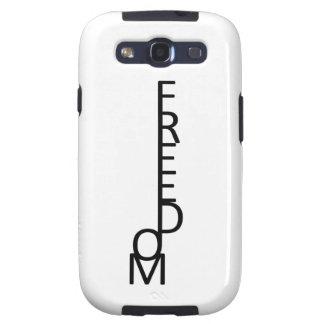Freedom Samsung Galaxy SIII Cases