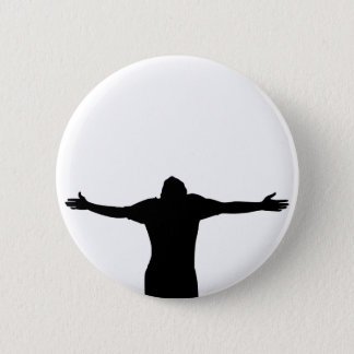 Freedom Silhouette 2 Inch Round Button