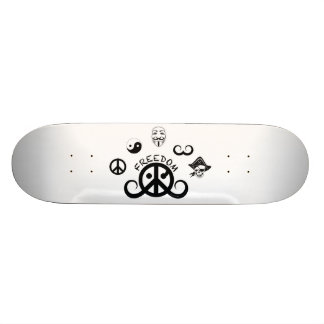 Freedom skateboard (origin motif) custom skate board