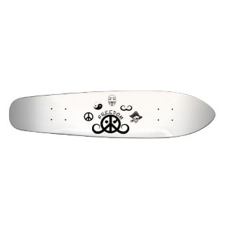 Freedom skateboard (pointed; origin motif) skate deck