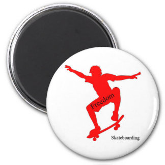 Freedom Skateboarding Magnet #1