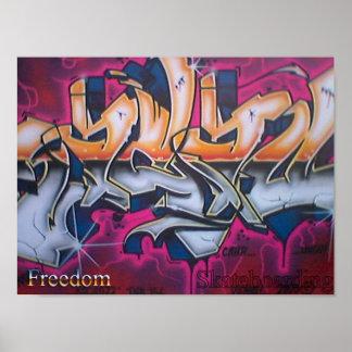 Freedom Skateboarding Poster #2