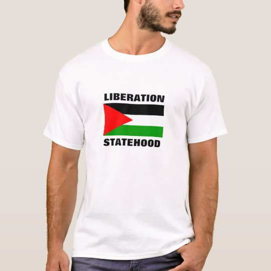 FREEDOM STATEHOOD FOR PALESTINE t-shirt