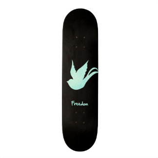Freedom swallow skate deck