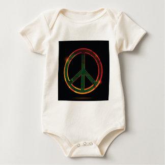 freedom symbol baby bodysuit