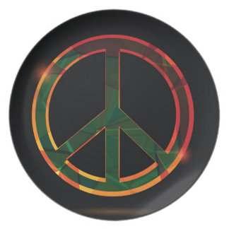 freedom symbol plate