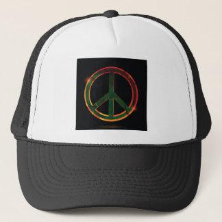 freedom symbol trucker hat