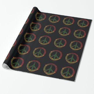 freedom symbol wrapping paper