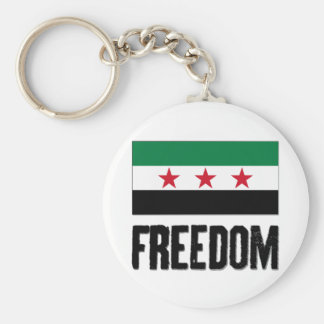Freedom - Syria Keychain