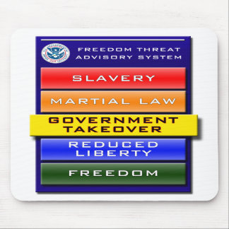 Freedom Threat Advisory Mousepad