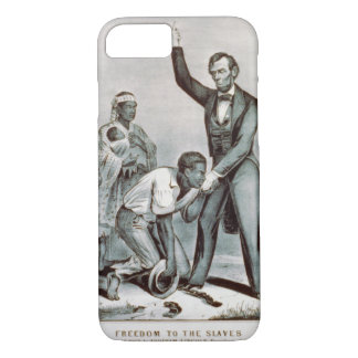 Freedom to the Slaves, Abraham Lincoln iPhone 7 Case