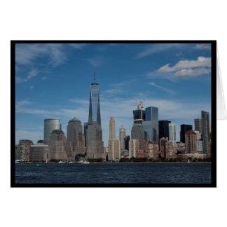 Freedom Tower, NY, NY Card
