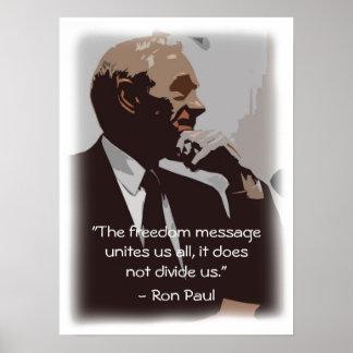 Freedom Unites Us Poster