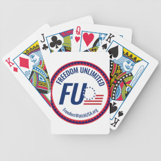 Freedom Unlimited Bicycle Playing Cards