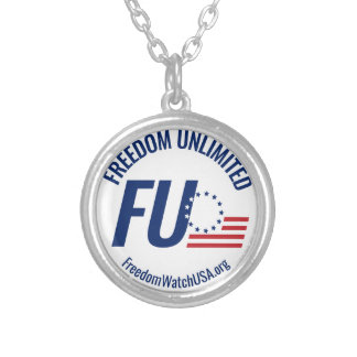 Freedom Unlimited Silver Plated Necklace