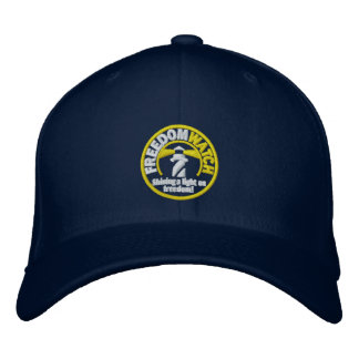 Freedom Watch Embroidered Hat