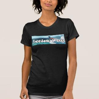 Freedom Waves - Trump Surfing T-Shirt