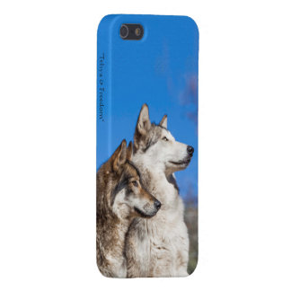 Freedom Wolf Matte Case For The iPhone 5