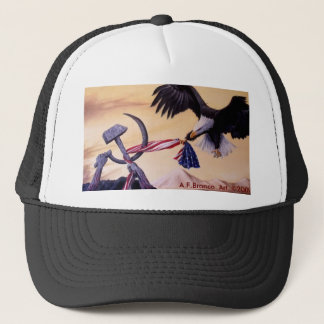 """Freedoms Battle""  cap Trucker Hat"
