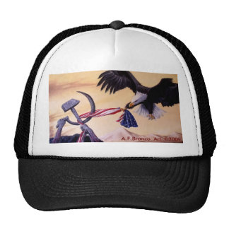 """Freedoms Battle""  cap Trucker Hat"