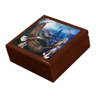 Freedom's Flight Eagle Art Gift Box