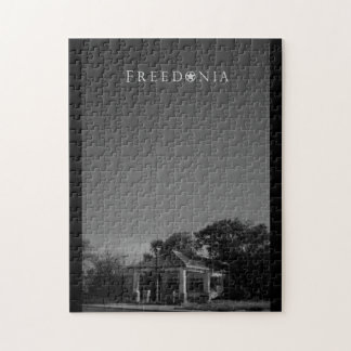 Freedonia Puzzle - Abandoned Gas Station
