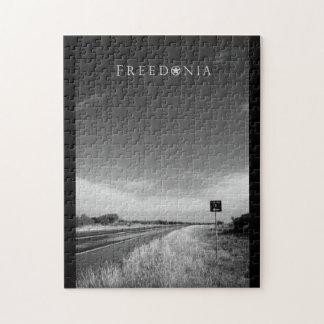 Freedonia Puzzle - County Road X