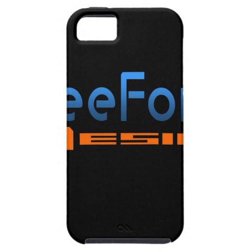 FreeForm Design Logo iPhone 5/5S Case