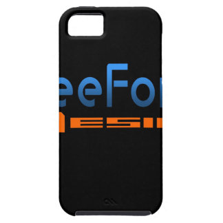FreeForm Design Logo iPhone 5 Cover