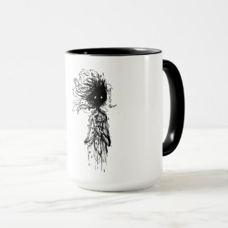 freehand sketch mug