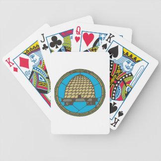 Freemason Beehive Poker Deck